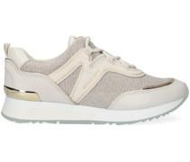 Michael Kors Sneaker Low Pippin Trainer Beige Damen