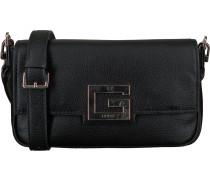Schwarze Guess Umhängetasche Brightside Shoulder Bag