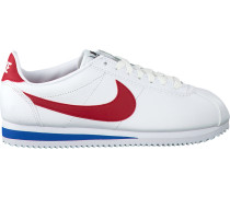 Weiße Nike Sneaker Classic Cortez Leather Wmns