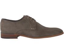 Taupe Omoda Business Schuhe 7245