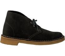 Grüne Clarks Boots DESERT BOOT DAMES