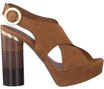 Cognac Ted Baker Sandaletten KAMILLA