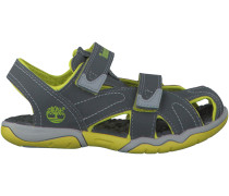Graue Timberland Sandalen ADVENTURE SEEKER CLOSED KIDS