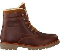 Braune Panama Jack Ankle Boots PANAMA 03 AVIATOR