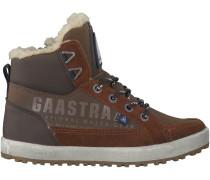 Braune Gaastra Boots CROSSJACKS MID FUR