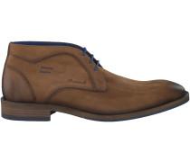 Cognac Braend Business Schuhe 424432