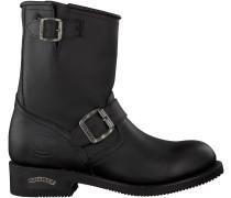 Schwarze Sendra Biker Boots 12399