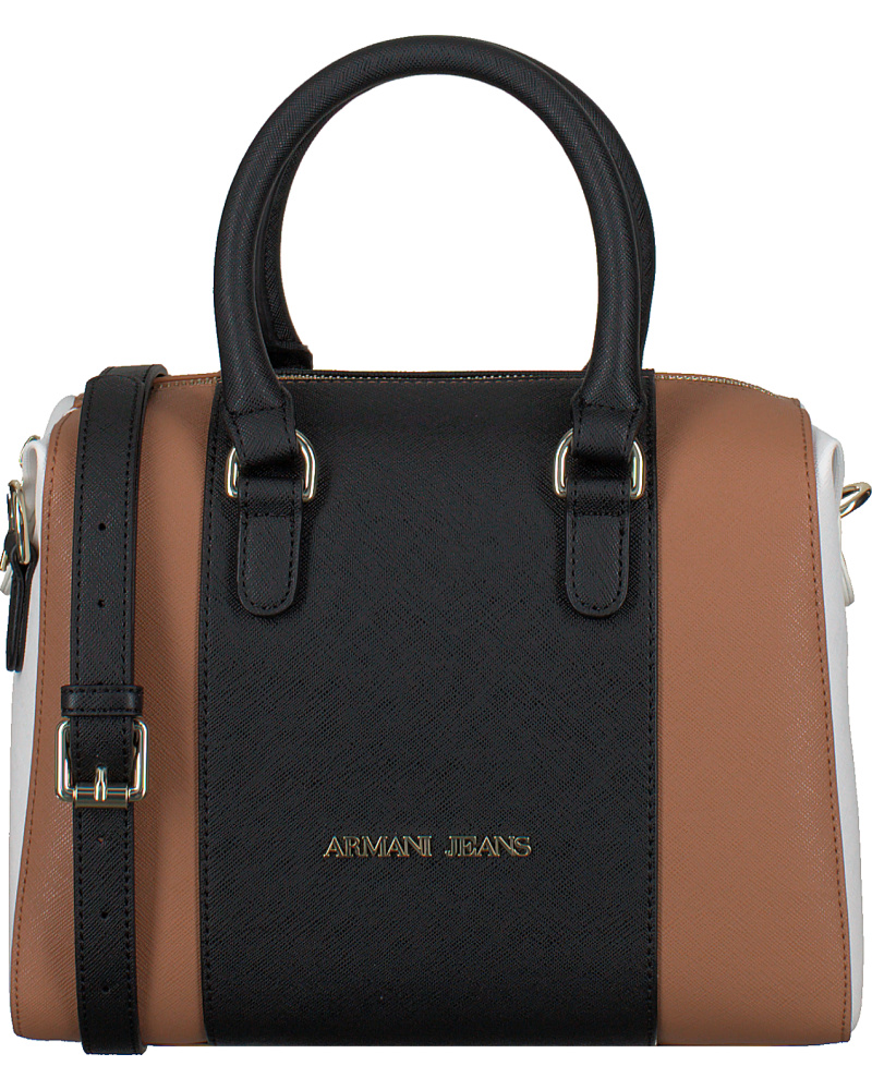 giorgio armani damen cognac armani handtasche c5204. Black Bedroom Furniture Sets. Home Design Ideas