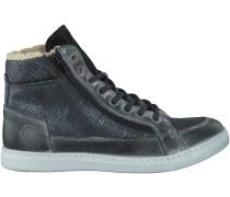 Schwarze Bullboxer Sneaker AGM512