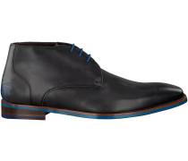 Graue Floris van Bommel Business Schuhe 20040