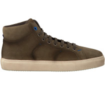 Taupe Greve Sneaker CLUB ZONE