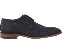 Blaue Omoda Business Schuhe 7245