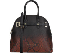 Schwarze Trussardi Jeans Handtasche 75B262