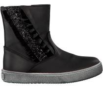 Schwarze Omoda Stiefel 4286