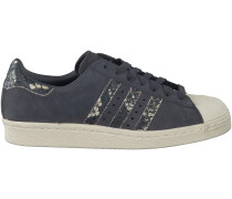 Graue Adidas Sneaker SUPERSTAR 80S DAMES