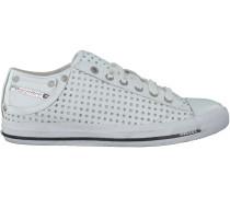 Weiße Diesel Sneaker MAGNETE EXPOSURE LOW