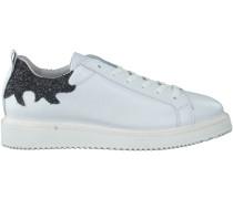 Weiße Bronx Sneaker 65828