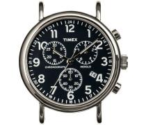 Silberne Timex Uhr (ohne Armband) WEEKENDER CHRONO