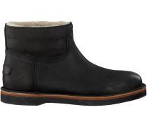Schwarze Shabbies Ankle Boots 181020056