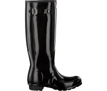 Hunter Gummistiefel Womens Original Tall Schwarz Damen