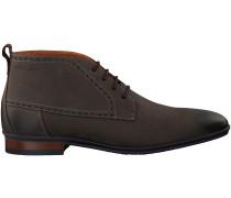 Graue Van Lier Business Schuhe 4361