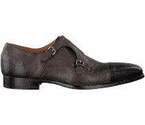 Taupe Greve Business Schuhe BARBERA MONK