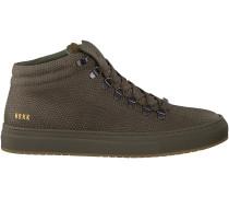 Grüne Nubikk Sneaker JHAY CAB LIZARD