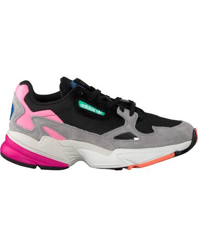 Schwarze Adidas Sneaker Falcon W