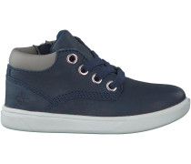 Blaue Timberland Sneaker GROVETON LEATHER