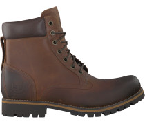 Timberland Ankle Boots RUGGed 6 In Plain Toe Wp Cognac Herren