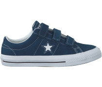 Blaue Converse Sneaker ONE STAR 3V OX