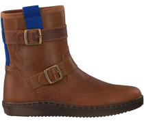 Cognac Kanjers Ankle Boots 5259RP