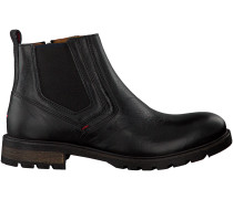 Schwarze Tommy Hilfiger Chelsea Boots CURTIS 15A