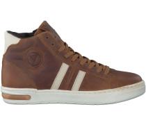Cognac Hip Sneaker H1207