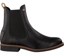 Panama Jack Chelsea Boots Gillian Igloo Travelling B1 Schwarz Damen