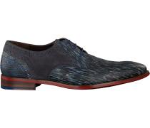 Floris Van Bommel Business Schuhe 18107 Grau Herren