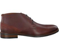 Braune Van Lier Business Schuhe 5341