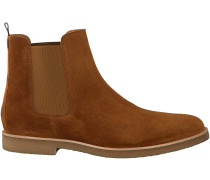 Cognac Tommy Hilfiger Chelsea Boots WILLIAM 2B