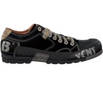 Schwarze Yellow Cab Sneaker Y12263