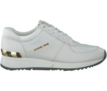 Weiße Michael Kors Sneaker ALLIE WRAP TRAINER