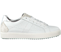 Weiße Maripé Sneaker 26372