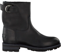 Schwarze Shabbies Ankle Boots 181020032