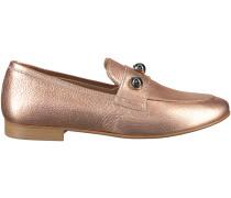 Rosé goldene Omoda Loafer EL04