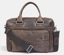 Briefcase Richmond, vintage-braun