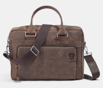 Briefcase Richmond, vintage-braun