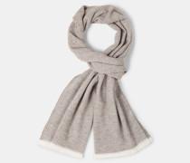 Schal, beige/grau