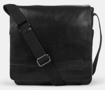 Messenger Bag Connor, schwarz
