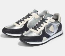 Sneaker Claude, silbern metallic