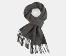 Doubleface-Schal, schwarz/grau