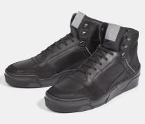 High Top Sneaker Paul, schwarz